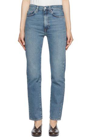 Totême Blue Regular Fit Jeans