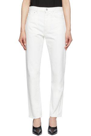 Totême Kvinder Jeans - Off-White Original Jeans