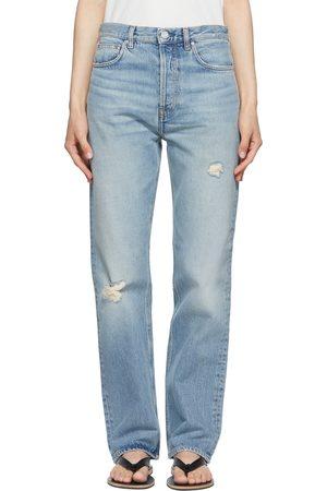 Totême Blue Ease Loose Fit Jeans
