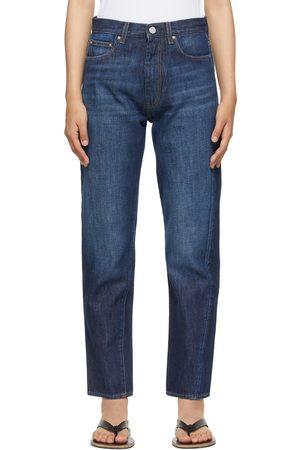 Totême Indigo Twisted Seam Jeans