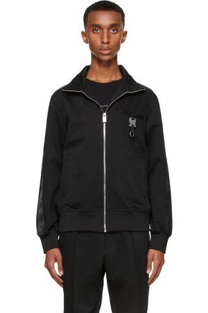 1017 ALYX 9SM Black Tracktop 1 Zip-Up Sweater
