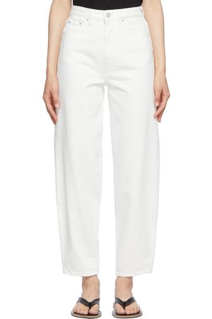 Totême Off-White Barrel Jeans