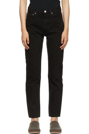 Totême Black Twisted Seam Jeans