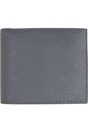 Bottega Veneta Mænd Punge - Grey Embossed Bifold Wallet