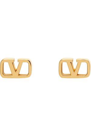 VALENTINO GARAVANI Kvinder Øreringe - Gold VLogo Earrings