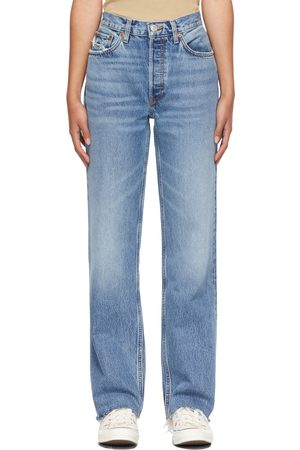 RE/DONE Blue 90s Comfy Jeans