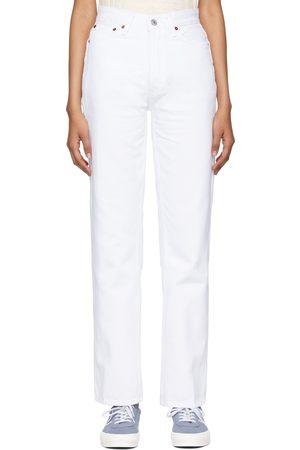 RE/DONE Kvinder High waist - High Rise Loose Jeans