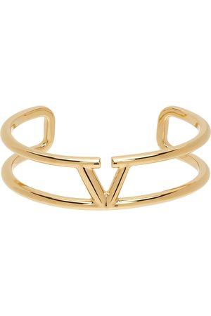 VALENTINO GARAVANI Kvinder Armbånd - Gold VLogo Cuff Bracelet