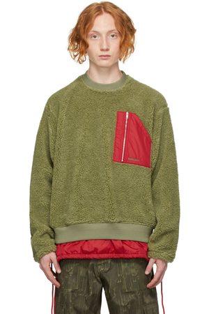 AMBUSH Mænd Sweatshirts - Khaki Wool Fleece Sweatshirt