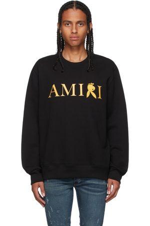 AMIRI Mænd Sweatshirts - Black & Gold Playboy Edition Reverse Bunny Sweatshirt