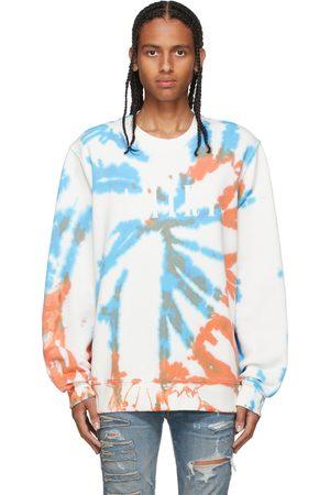 AMIRI Mænd Sweatshirts - Orange & Blue Core Tie-Dye Sweatshirt