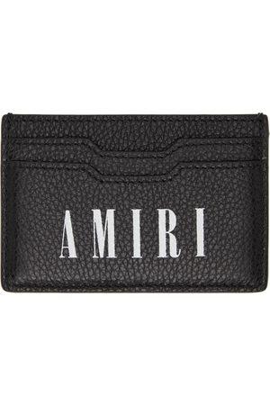 AMIRI & White Large Logo Card Holder