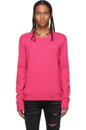 AMIRI Cashmere Destroyed & Repaired Sweater