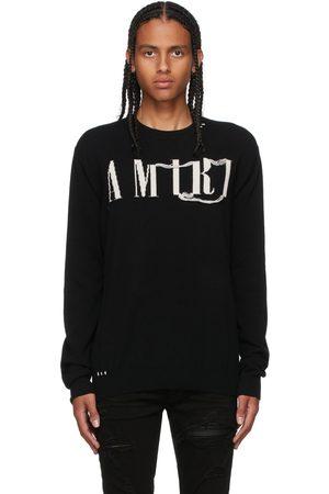 AMIRI Mænd Strik - Cashmere Logo Sweater