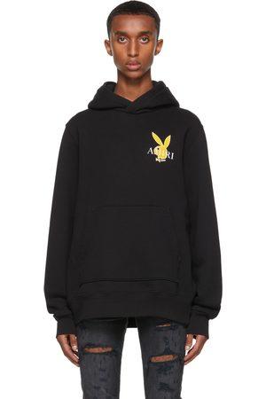 AMIRI Mænd Sweatshirts - Black Playboy Edition Cover Bunny Hoodie