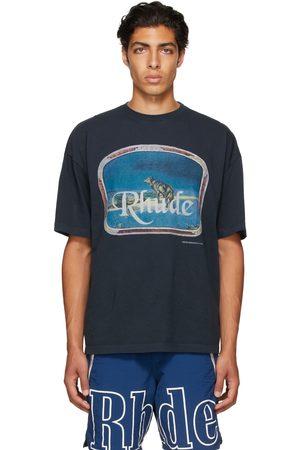 Rhude Black Lone Wolf T-Shirt