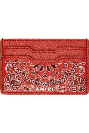 AMIRI Mænd Punge - Bandana Card Holder