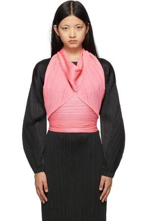 PLEATS PLEASE ISSEY MIYAKE Kvinder Tørklæder - Pink Sprout Scarf