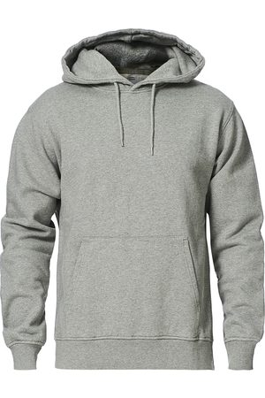 Colorful Standard Mænd Sweatshirts - Classic Organic Hood Heather Grey