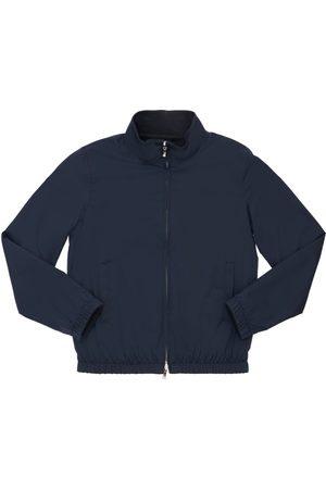 Loro Piana Nylon Zip-up Bomber Jacket