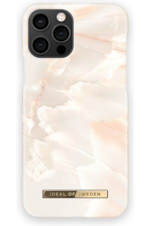Ideal of sweden Mobil Covers - Fashion Case iPhone 12 Pro Rose Pearl Marble