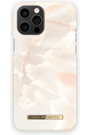 Ideal of sweden Mobil Covers - Fashion Case iPhone 12 Pro Max Rose Pearl Marble