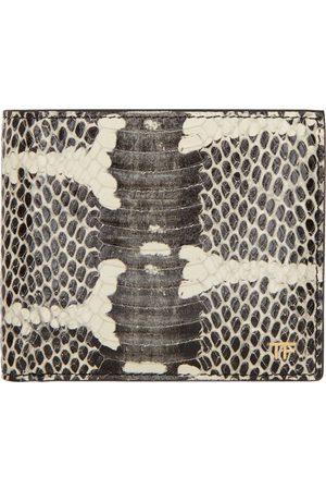 Tom Ford Black Snake T Line Classic Bifold Wallet