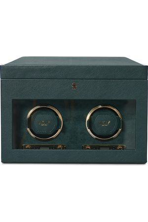 Wolf Mænd Ure - British Racing Green Double Watch Winder