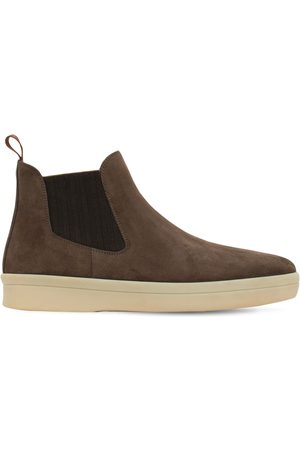 Loro Piana Ultimate Walk Suede Beatle Boots