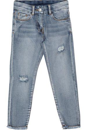 MONNALISA X Chiara Ferragni embroidered jeans