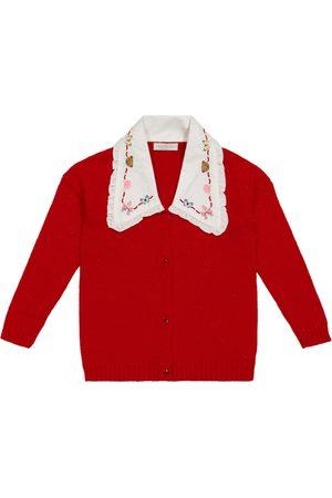 MONNALISA Piger Cardigans - Wool-blend cardigan