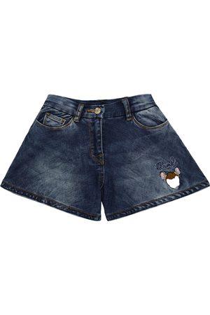 MONNALISA X Disney® denim shorts