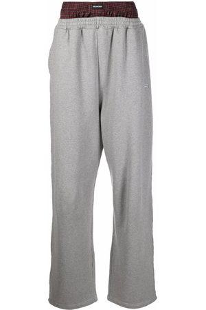 Balenciaga Mænd Joggingbukser - Trompe l'oeil track trousers