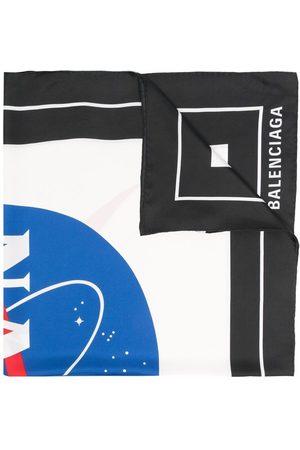 Balenciaga Nasa-print scarf