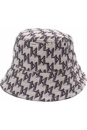 Karl Lagerfeld Mænd Hatte - Vendbar bøllehat med K/monogram