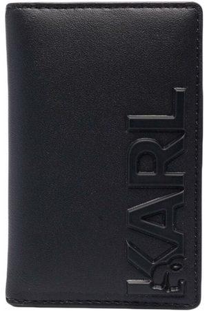 Karl Lagerfeld Mænd Punge - K/Karl kortholder i præget læder