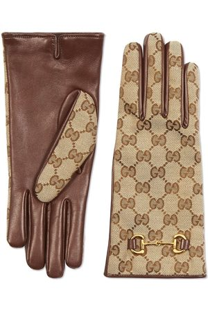 Gucci GG Supreme handsker