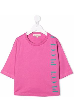 Emilio Pucci Piger Kortærmede - T-shirt med logotryk