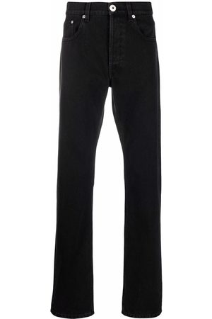 Lanvin Mænd Slim - Logo-patch slim-fit jeans