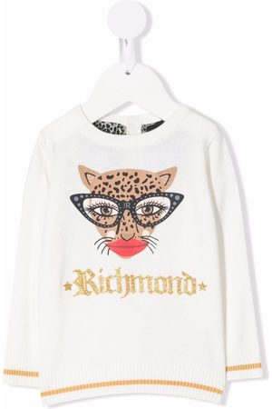 John Richmond Junior Baby Sweatshirts - Langærmet trøje med logotryk