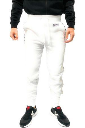 Moschino Mænd Joggingbukser - Pantalone in felpa A4314 con banda laterale E21MO40