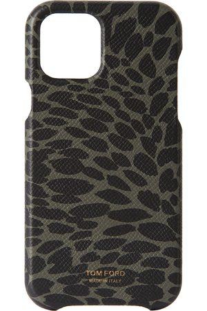 Tom Ford Green & Black Animal Print iPhone 12 Pro Case