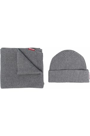 Dsquared2 Mænd Huer - Scarf and beanie set