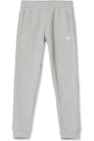 adidas Mænd Joggingbukser - Essential Trefoil Sweatpants Grey Melange