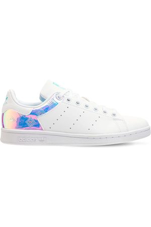 adidas Stan Smith Leather Lace-up Sneakers