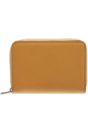 Jil Sander Leather Zip Around Wallet
