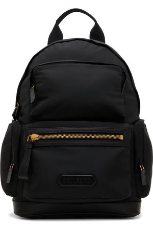 Tom Ford Black Multi-Compartment Backpack