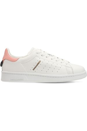 Dsquared2 20mm Leather Low Top Sneakers
