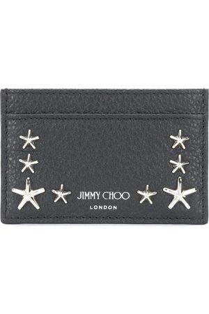 Jimmy Choo Mænd Punge - Kortholder i læder med stjerne-nitter