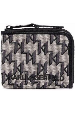 Karl Lagerfeld Mænd Punge - Jacquard-pung med K/monogram